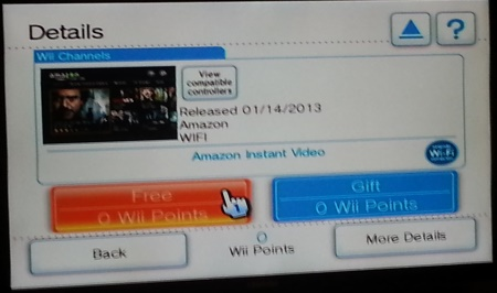 amazon instant wii summary How to install the Amazon Instant app on your Nintendo Wii and Wii U
