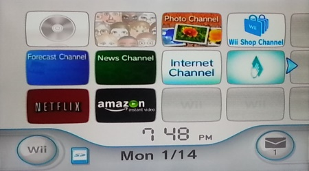 wii menu with amazon How to install the Amazon Instant app on your Nintendo Wii and Wii U